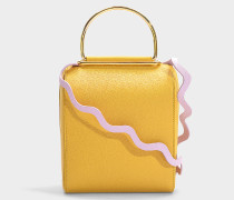 Handtasche Besa aus camelfarbenem Leder
