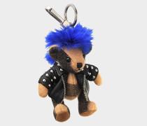 Thomas Punk Schlüsselanhänger aus camelfarbenem Kaschmir