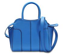 Sella Mini Tasche aus blauem Kalbsleder