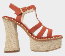Montferrat sandal with rope platform