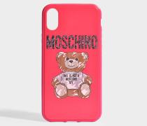Hülle iPhone XS Toy aus rosa PVC