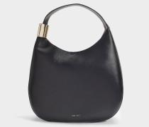 Tasche Stevie aus schwarzem Nappaleder