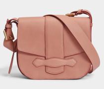 Gemma Crossbody Tasche aus rosanem Kuhleder