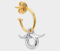 Ohrring Mini Horn, einzeln erhältlich