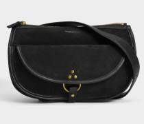 Felix Fanny Pack Tasche aus schwarzem Ziegenleder