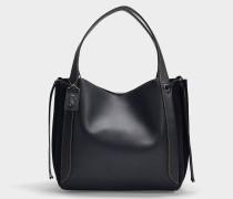 Hobo Bag Harmony aus schwarzem Kalbsleder