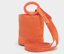 S801S Bonsai 15 Cm Tasche with Strap aus Mango glattem Nubuk