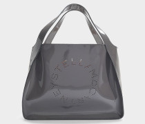 Shopper Falabella aus schwarzem Synthetikmaterial