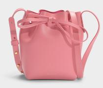 Bucket Bag Mini Mini Bucket aus rosa Kalbsleder