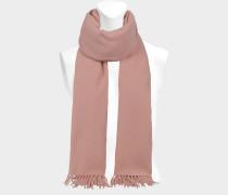 Schal Canada New aus blassrosa Wolle