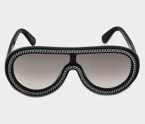 Pilotenbrille mit Kette