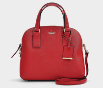 Kleine Handtasche Lottie Cameron Street aus Kalbsleder Saffiano Orange