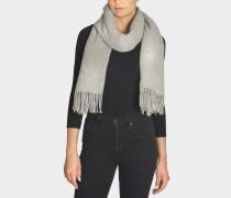Schal Canada New aus hellgrauer Wolle