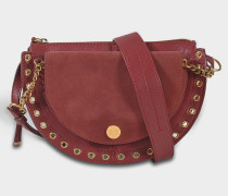 See by Chloé Kriss Small Crossbody Tasche aus Sienna rotem Wildleder