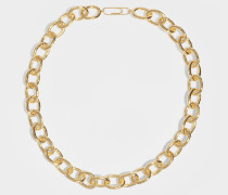 Manon Necklace in Gold-Plated Brass