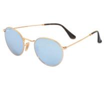 0RB3447 Sonnenbrille aus blauem Metall