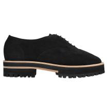 Schuhe Gordon aus Veloursleder mit Schnürung