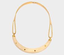 Caftan Moon Resin horn Halskette