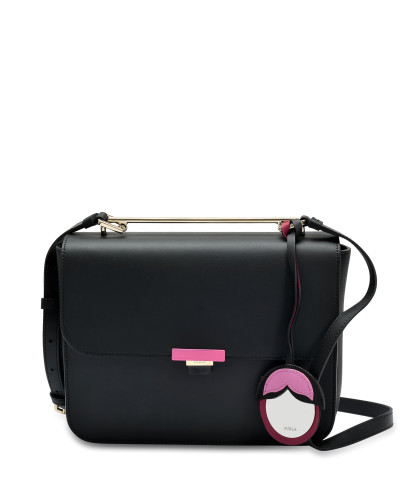 Billig Verkauf Besuch Furla Damen Elisir S Crossbody Tasche in Orchid aus Onyx und Kalbsleder Verkauf Breite Palette Von 6Ybwp