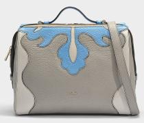 Handtasche Dalia Medium aus beigem Kalbsleder