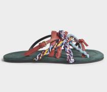 Turenne Slip On Sandalen aus Safari Leder