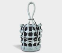 Roxy Cage Mini Bucket Tasche aus Bleached Kalbsleder