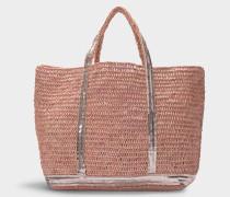 Shopper Moyen + Raffiabast Pailletten