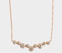 Sakura Halskette Gold 750 mit Diamanten