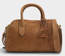 Tasche Sullivan aus braunem Wildleder