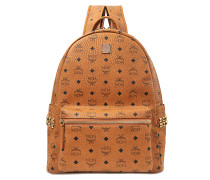 Stark Side Studs Medium Backpack in Cognac