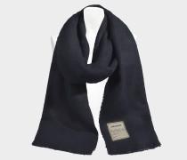 Schal Orely aus marineblauer Baumwolle