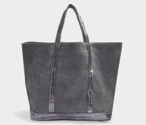 Shopper Moyen+ Leinen Pailletten