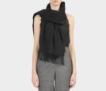Canada Cash Schal aus schwarzem Kaschmir