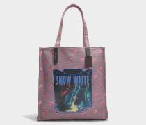Shopper Snow White aus Baumwolle in der Farbe Jasmin