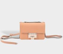 Rebel Soft Mini Tasche aus Ballet rosanem Soft Ziegenleder