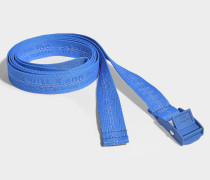 Gürtel Mini Industrial aus blauem Synthetikmaterial