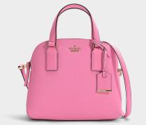 Kleine Handtasche Lottie Cameron Street aus rosa Kalbsleder