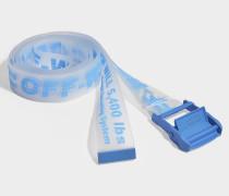 Gürtel Rubber Industrial aus blauem, transparentem Synthetikmaterial