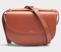 Handtasche Genève aus marineblauem Kalbsleder