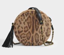 Remi Tasche aus Leopard Pony Kalbsleder