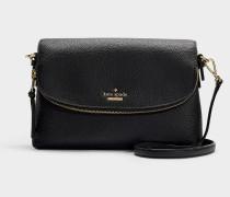 Harlyn Jackson Street Tasche aus schwarzem Leder
