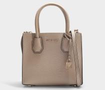 Handtasche Mercer Medium aus beigem Kalbsleder