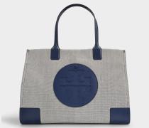 Shopper Ella aus marineblauem Stoff