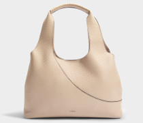 Horizontal Tote Bag aus mehrfarbig Leder