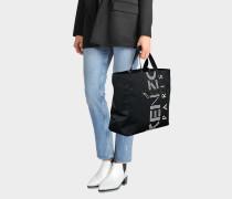 Sport Tote Bag aus schwarzem Nylon