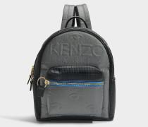 Kombo Backpack aus silbernem Neopren