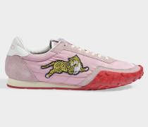 Sneaker Move aus blassrosa Polyamid