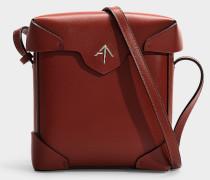 Mini Handtasche Pristine aus pflanzlichem Kalbsleder in Rot