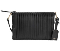 Crossbody Bag Stripe Pleats