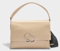 Alix Oversized Tasche aus Kitz- Lammleder
